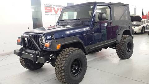 2006 Jeep Wrangler for sale at SPECIALTY VEHICLE SALES INC in Skokie IL
