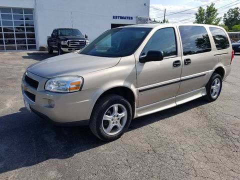 2008 Chevrolet Uplander for sale at SPECIALTY VEHICLE SALES INC in Skokie IL