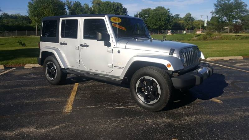 2011 Jeep Wrangler Unlimited for sale at SPECIALTY VEHICLE SALES INC in Skokie IL