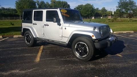 2011 Jeep Wrangler Unlimited for sale in Skokie, IL