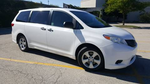 2015 Toyota Sienna for sale at SPECIALTY VEHICLE SALES INC in Skokie IL