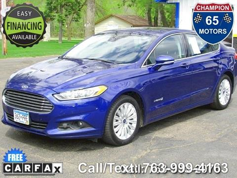 2014 Ford Fusion Hybrid for sale in Ham Lake, MN