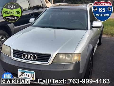 2002 Audi Allroad Quattro for sale in Ham Lake, MN