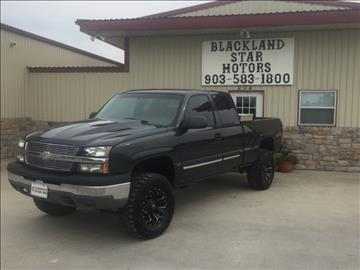 2004 Chevrolet Silverado 1500 for sale in Bonham, TX