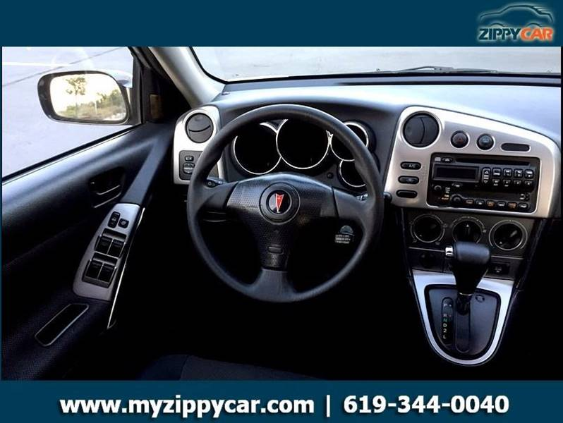 2004 Pontiac Vibe for sale at Zippy Car in San Diego CA