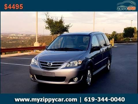 2004 Mazda MPV for sale at Zippy Car in San Diego CA