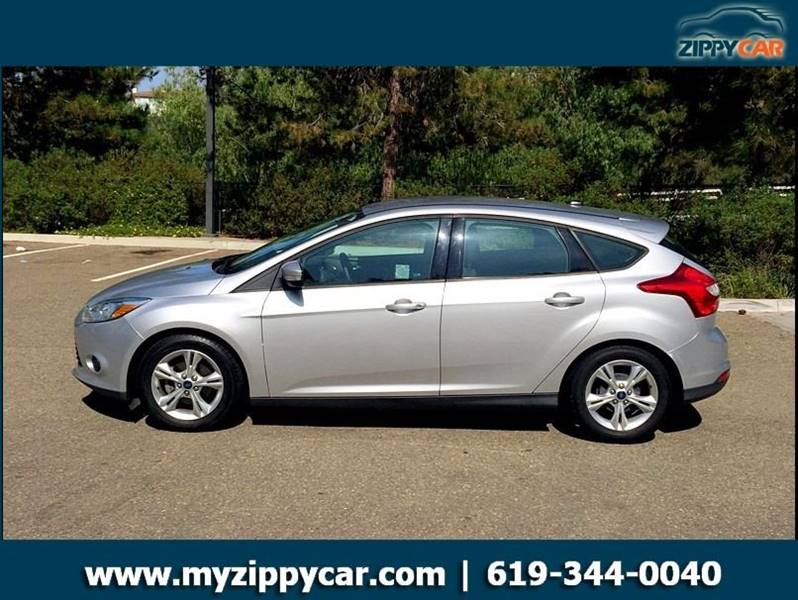 2013 Ford Focus for sale at Zippy Car in San Diego CA
