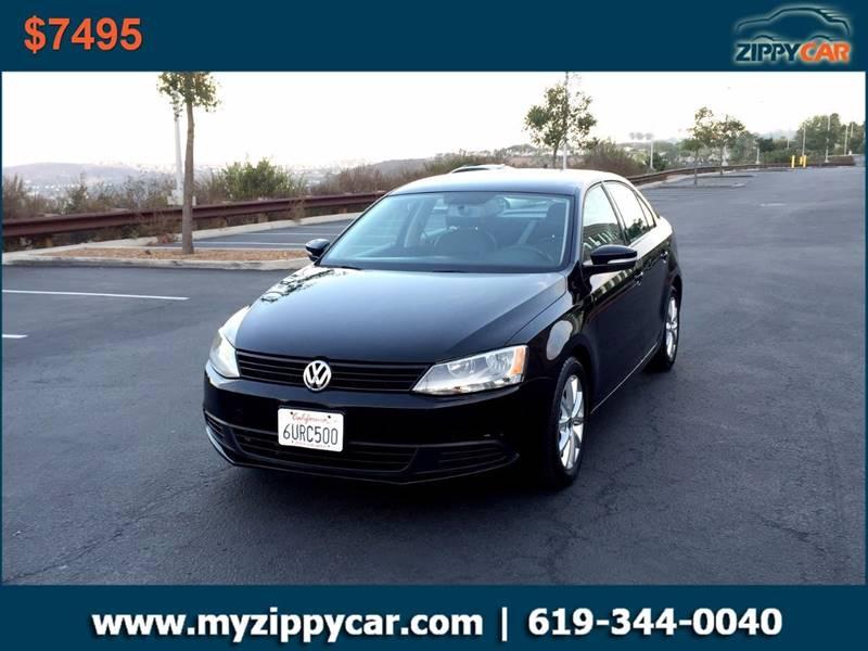 2012 Volkswagen Jetta for sale at Zippy Car in San Diego CA