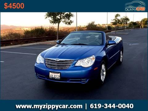 2008 Chrysler Sebring for sale at Zippy Car in San Diego CA