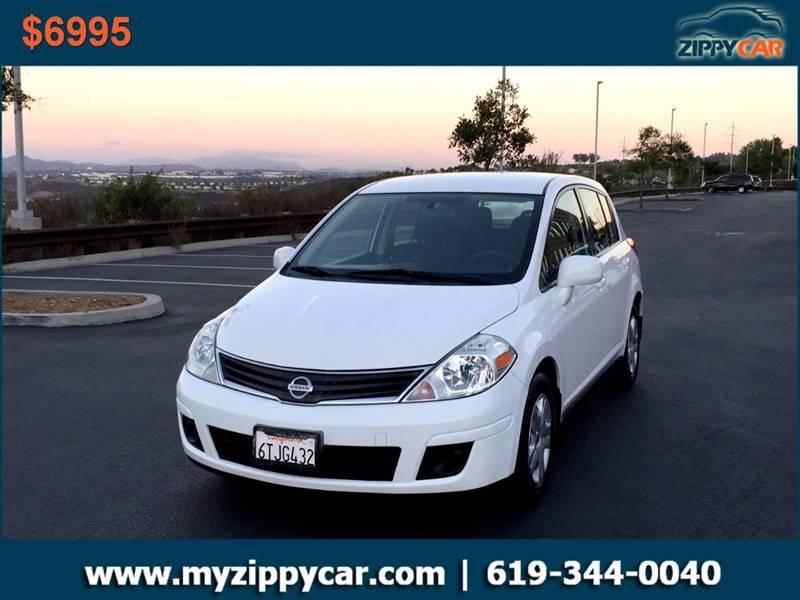 2012 Nissan Versa for sale at Zippy Car in San Diego CA