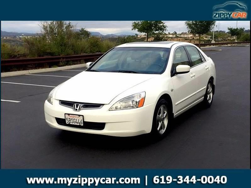 2003 Honda Accord For Sale At Zippy Car In San Diego CA