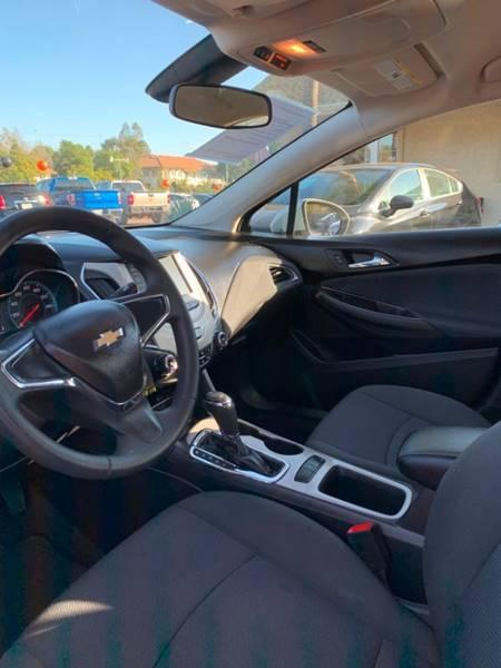 2018 Chevrolet Cruze LS Auto 4dr Sedan - Fallbrook CA