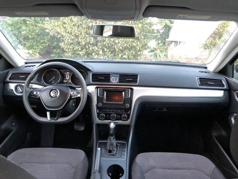 2016 Volkswagen Passat 1.8T S PZEV 4dr Sedan - Fallbrook CA