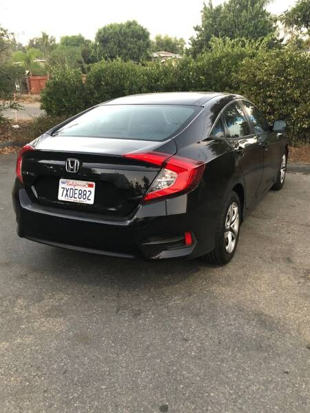 2017 Honda Civic LX 4dr Sedan CVT - Fallbrook CA