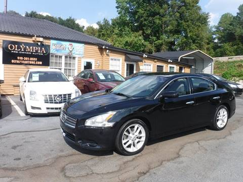 2013 Nissan Maxima for sale in Raleigh, NC
