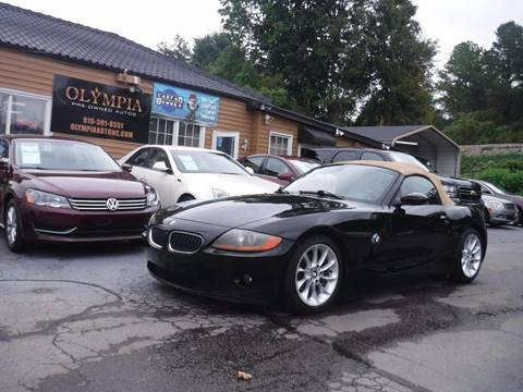 2003 BMW Z4 for sale in Raleigh, NC