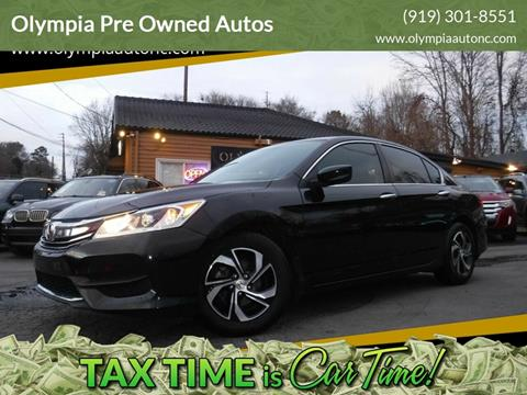 2016 Honda Accord for sale in Raleigh, NC