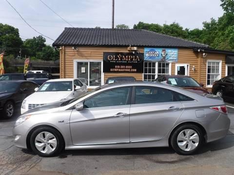 2013 Hyundai Sonata Hybrid for sale in Raleigh, NC