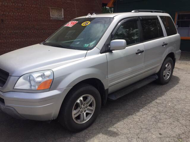 2005 Honda Pilot 4dr EX-L 4WD SUV w/Leather and Navigation System - Binghampton NY