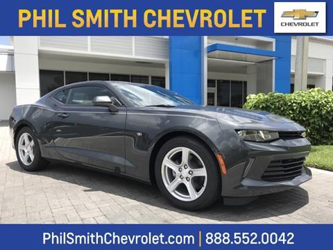 2017 Chevrolet Camaro for sale in Lauderhill, FL
