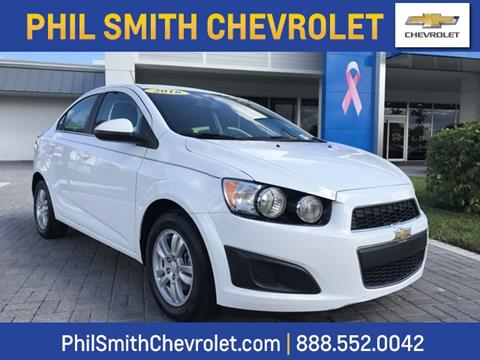 2016 Chevrolet Sonic for sale in Lauderhill, FL