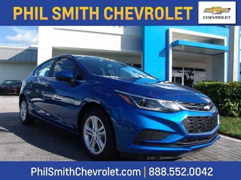 2017 Chevrolet Cruze for sale in Lauderhill, FL