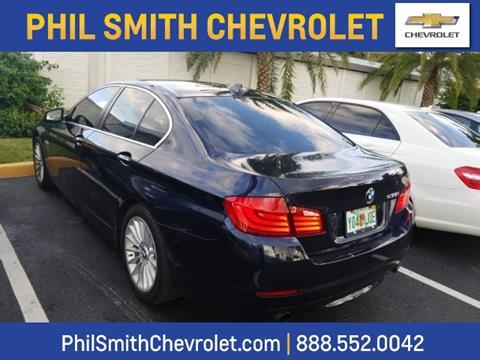 2011 BMW 5 Series for sale in Lauderhill, FL