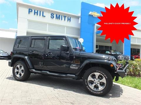 2016 Jeep Wrangler Unlimited for sale in Lauderhill, FL