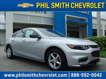 2017 Chevrolet Malibu for sale in Lauderhill, FL