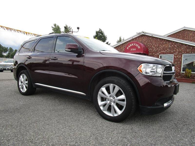 2012 Dodge Durango for sale at PARKVIEW AUTO SALES in Elma NY