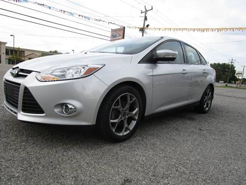 2014 Ford Focus for sale at PARKVIEW AUTO SALES in Elma NY