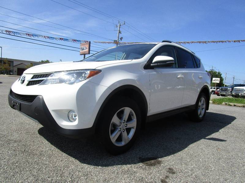 2014 Toyota RAV4 for sale at PARKVIEW AUTO SALES in Elma NY