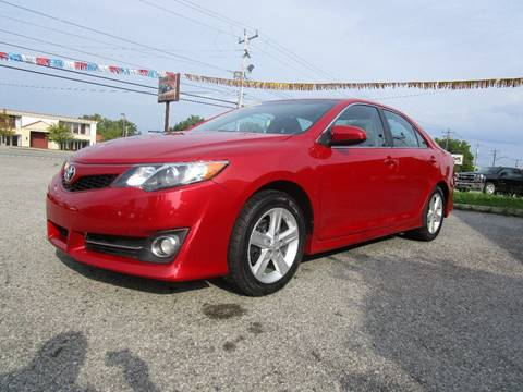 2014 Toyota Camry for sale at PARKVIEW AUTO SALES in Elma NY