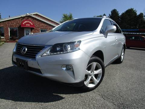 2013 Lexus RX 350 for sale at PARKVIEW AUTO SALES in Elma NY