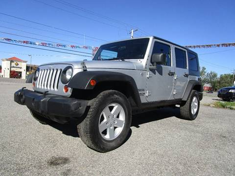 2010 Jeep Wrangler Unlimited for sale at PARKVIEW AUTO SALES in Elma NY