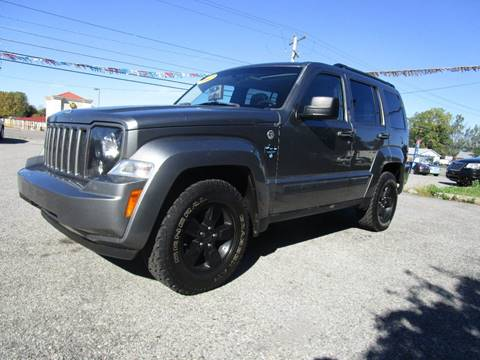 2012 Jeep Liberty for sale at PARKVIEW AUTO SALES in Elma NY