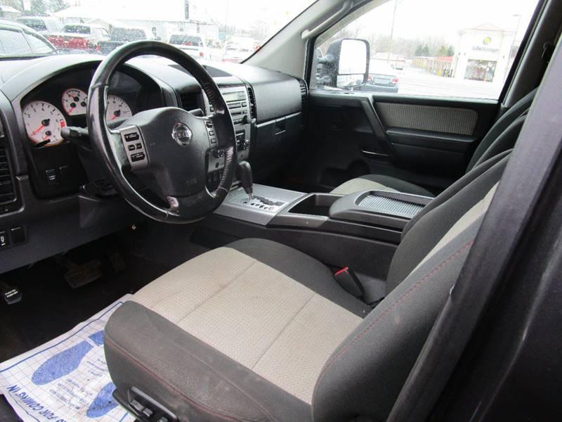 2008 Nissan Titan 4x4 PRO-4X Crew Cab Short Bed 4dr (2008.5) - Elma NY