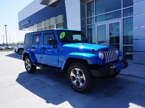 2016 Jeep Wrangler Unlimited for sale in Diberville, MS