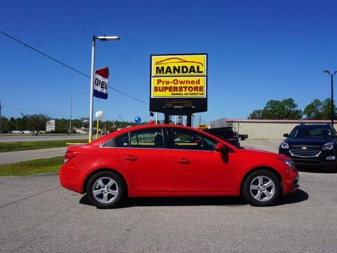 2016 Chevrolet Cruze Limited for sale in Diberville MS