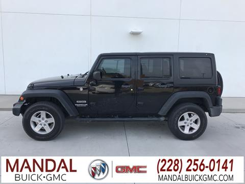 2014 Jeep Wrangler Unlimited for sale in Diberville, MS
