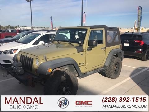2013 Jeep Wrangler for sale in Diberville, MS