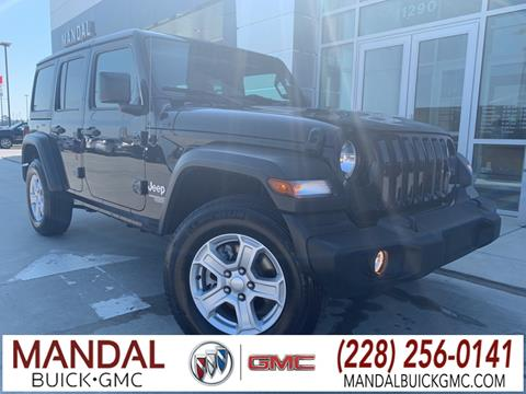 2019 Jeep Wrangler Unlimited for sale in Diberville, MS