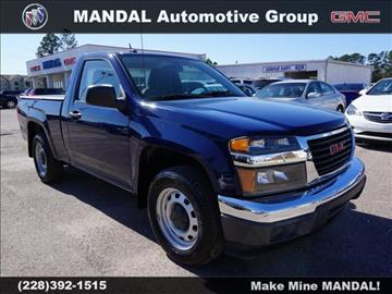 2012 GMC Canyon for sale in Diberville, MS
