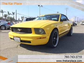 2005 Ford Mustang for sale in Escondido, CA