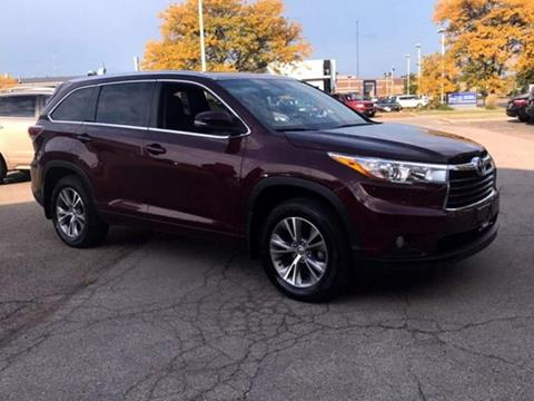 2015 Toyota Highlander for sale at Used Cars Madison at Division of Smart Motors in Madison WI