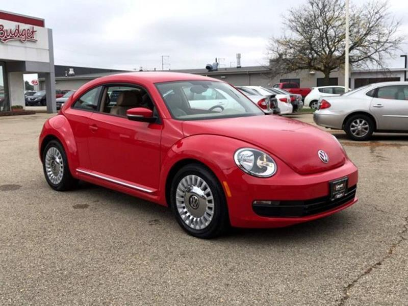 2016 Volkswagen Beetle for sale at Used Cars Madison in Madison WI