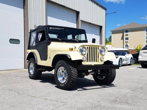 1969 Jeep CJ-5 for sale in Indianapolis, IN