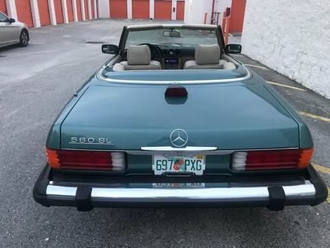 1986 Mercedes-Benz 560-Class for sale in Lake Park, FL