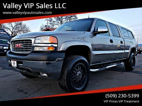 2002 GMC Sierra 2500HD for sale in Spokane Valley, WA