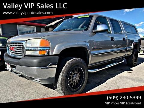 2002 GMC Sierra 2500HD for sale in Spokane Valley, WA